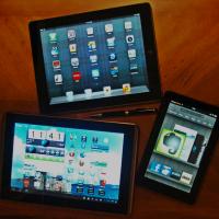 iPad, Transformer, Fire