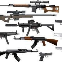 bigstock-Weapon-collection-25532642
