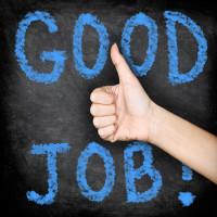 bigstock-Good-job--thumbs-up-blackboar-51442159