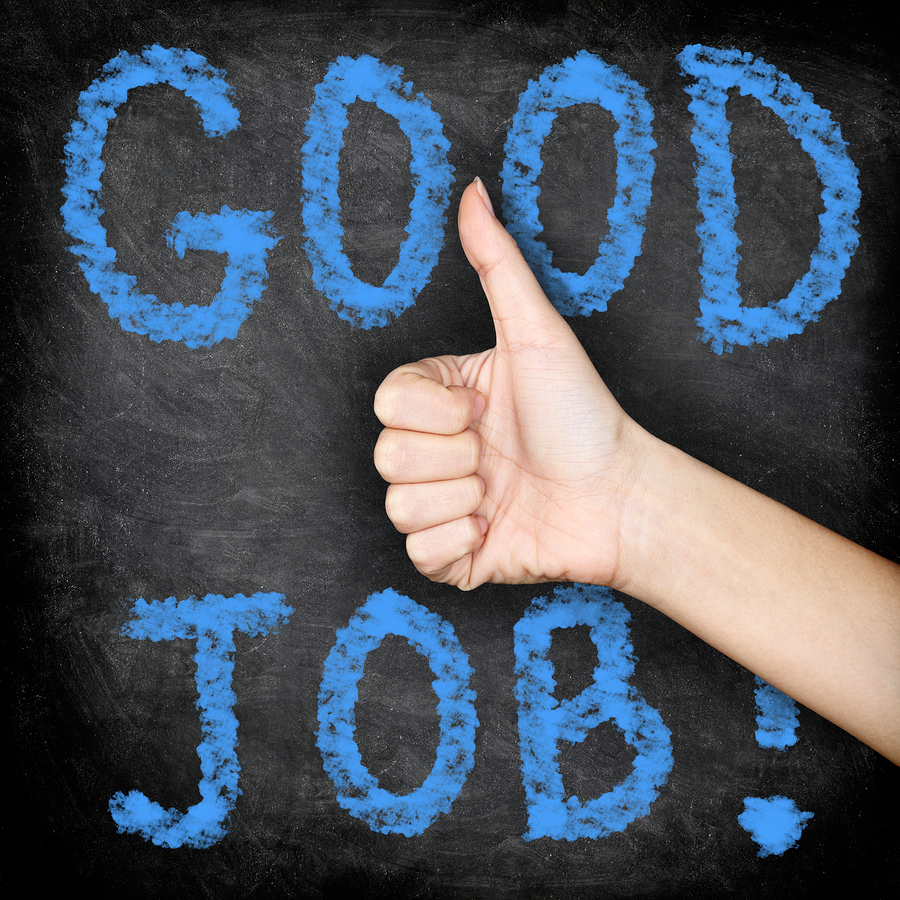 what education is getting right michael mcneil bigstock good job thumbs up blackboar 51442159