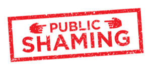 Online Or Public Shaming